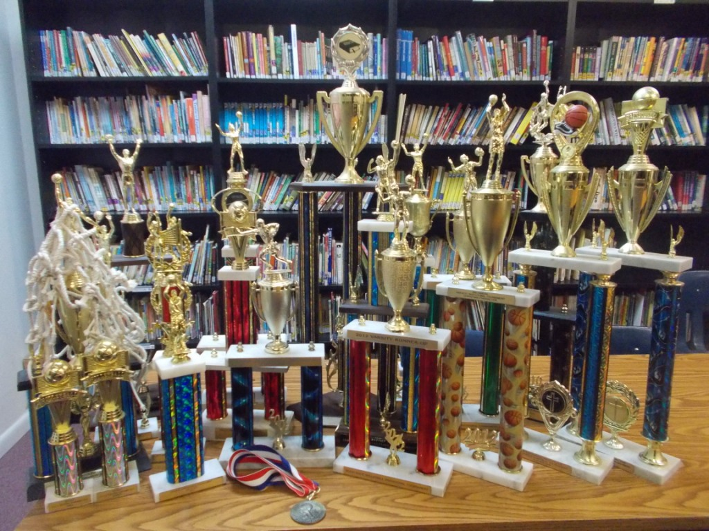Photo of trophies